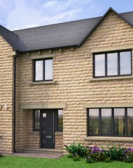 Composite doors for new South Yorkshire development