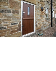 Are These The Smallest Composite Stable Doors Ever Made?