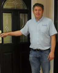 Richard Pogson, MD and owner of PVCu and composite window and door manufacturer Lockwood Windows, Huddersfield