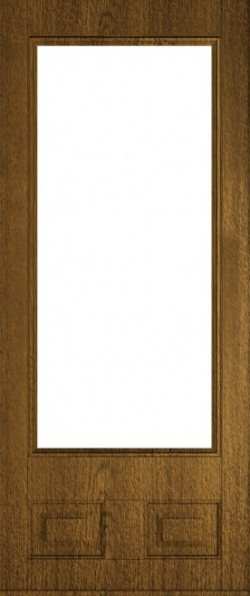 The Alnwick composite door in Walnut.