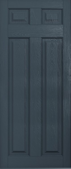 The Berkeley composite door in Anthracite Grey.