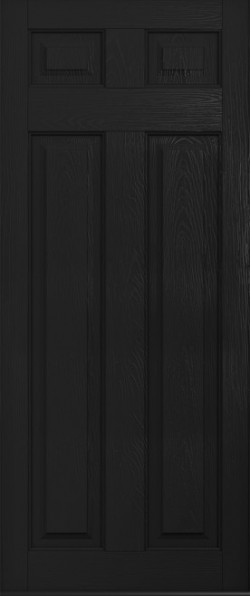 The Berkeley composite door in Black.