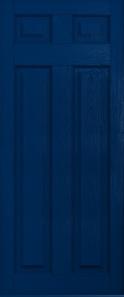 The Berkeley composite door in Blue.