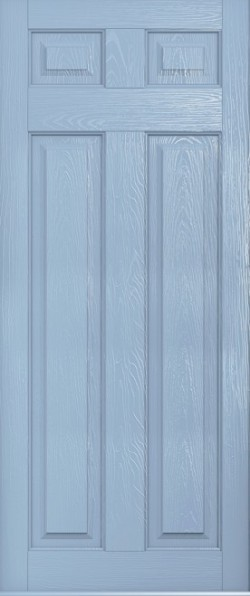 The Berkeley composite door in Duck Egg Blue.