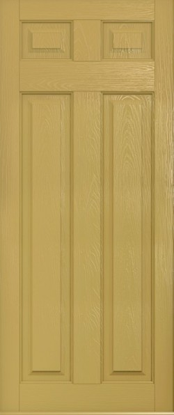 The Berkeley composite door in Golden Sand.
