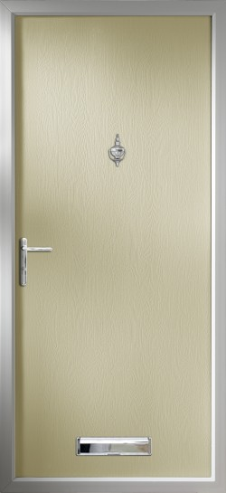 Thornbury composite door in Cream