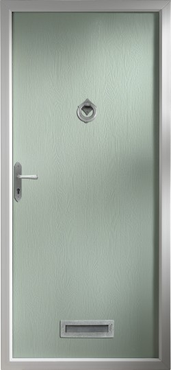 Thornbury composite door in Chartwell Green.