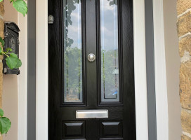 New Edinburgh composite door images - in-situ