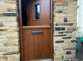 Stable door in Walnut installed in Upper Hopton, Mirfield