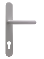 Lever handle - WH - for composite door from Yorkshire Doors & Windows.