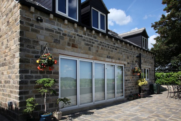 Images of bi-fold and patio doors by Composite Doors Yorkshire