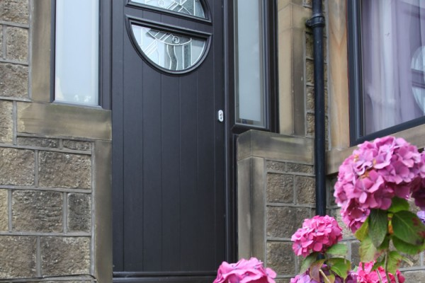 The Italia Collection of composite doors from Solidor.